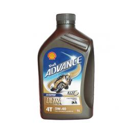 Olio Moto Shell Advance Scooter Ultra 4T 5W-40 sintetico 1 Lt