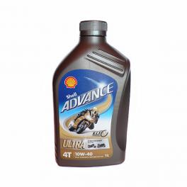 Olio moto Shell Advance Ultra 4T 10W-40 sintetico 1 Lt